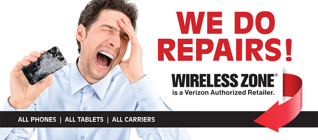 Repair Zone at Wireless Zone Locations across Connecticut and Rhode Island Westerly Groton New London Glastonbury Windham Killingly Putnam cell phone repair tablet repair ipad repair laptop repair